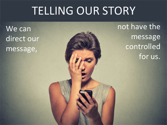 telling our story