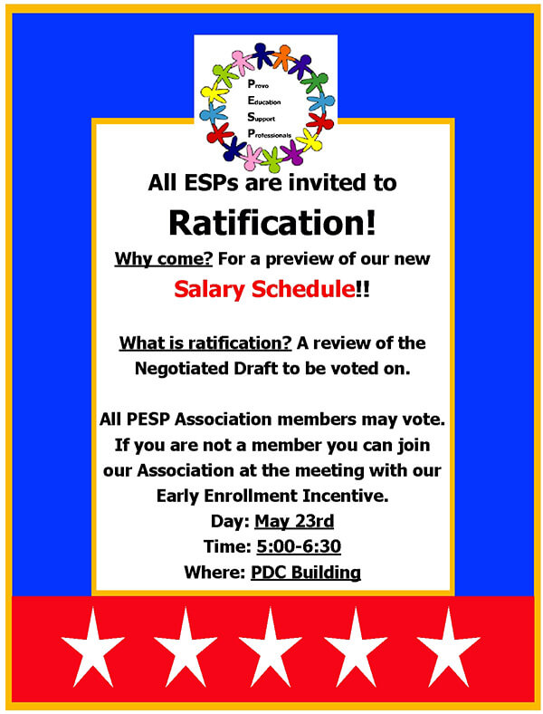 ratification invitation