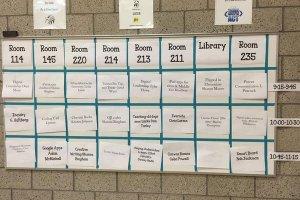 edcamp sample schedule