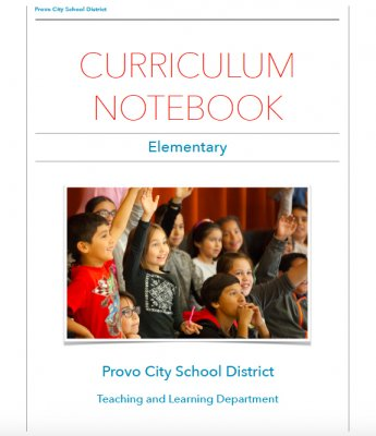 Link to Elementary Curriculum Notebook