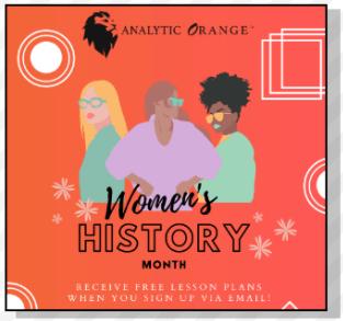 women history month image